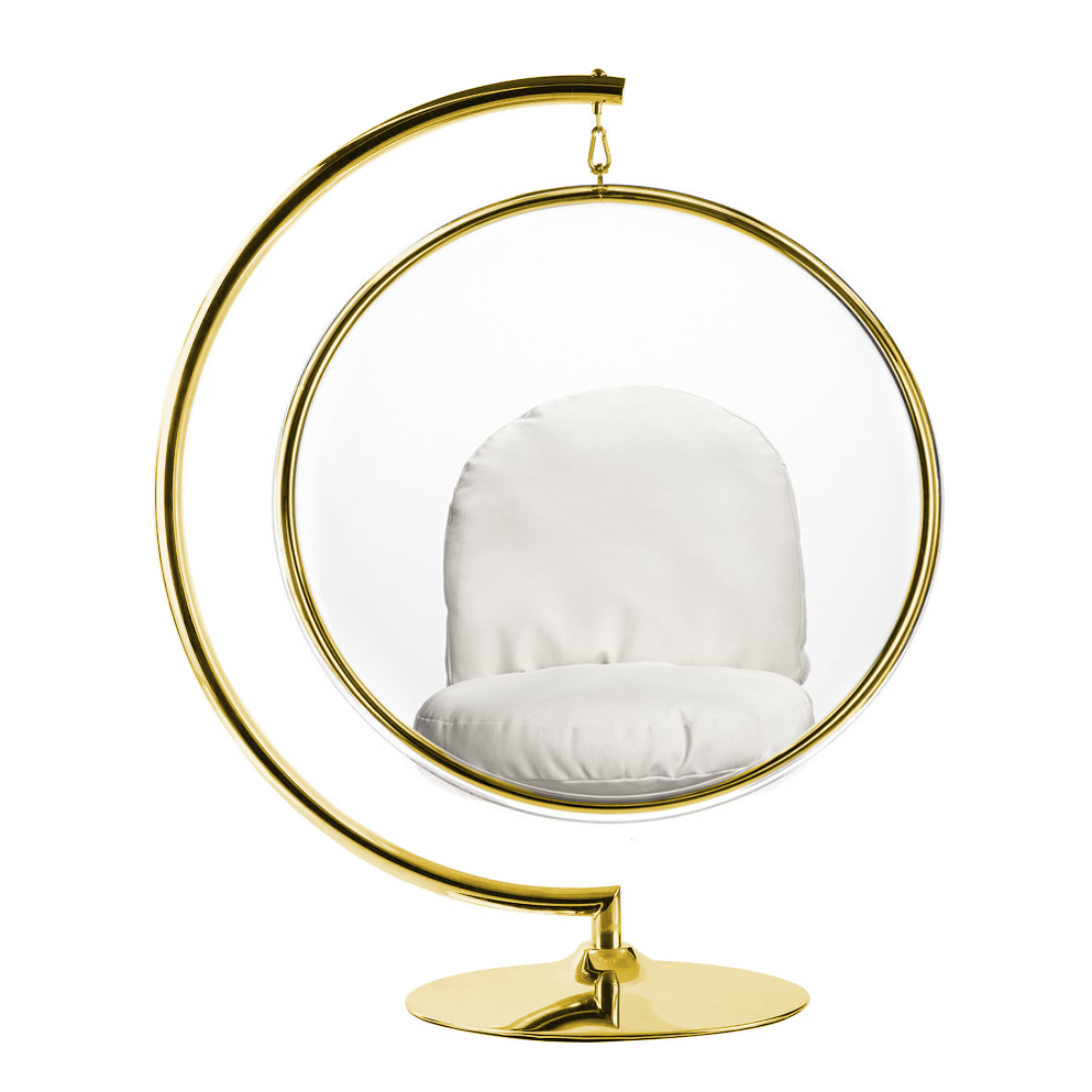 Hanging Bubble Chair With Stand Gold Special Edition In 2020