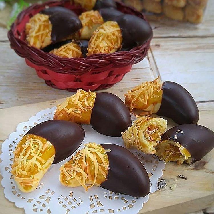 Resep Nastar Cokelat Keju Dan Cara Membuat Kue Kering Nastar Coklat Lengkap Bahan Bikin Resep Nastar Klasik Topping Kue Kering Kemasan Kue Kering Resep Biskuit