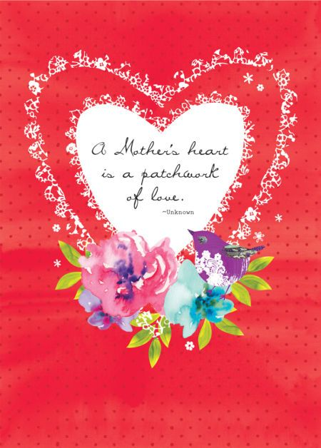 Debbie Edwards - Mothers Day Mum Quote Valentines Day Floral Flowers