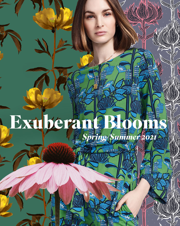 spring summer 2021 print pattern trend exuberant on 2021 decor colour trend predictions id=60556