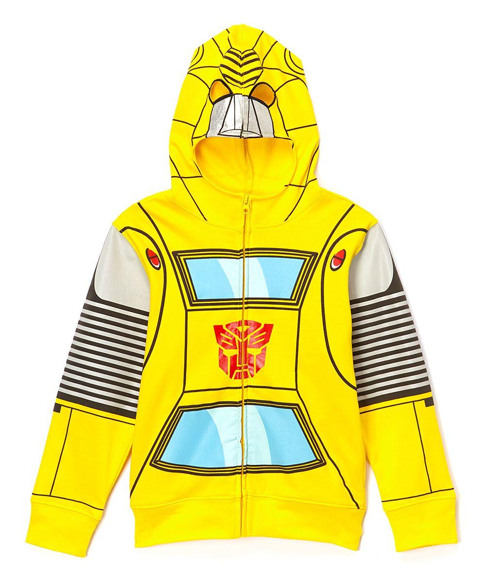 Transformers Boys Big Character Hoodie