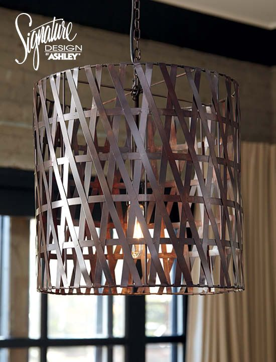 Metal Pendant Lamp   Ashley Furniture