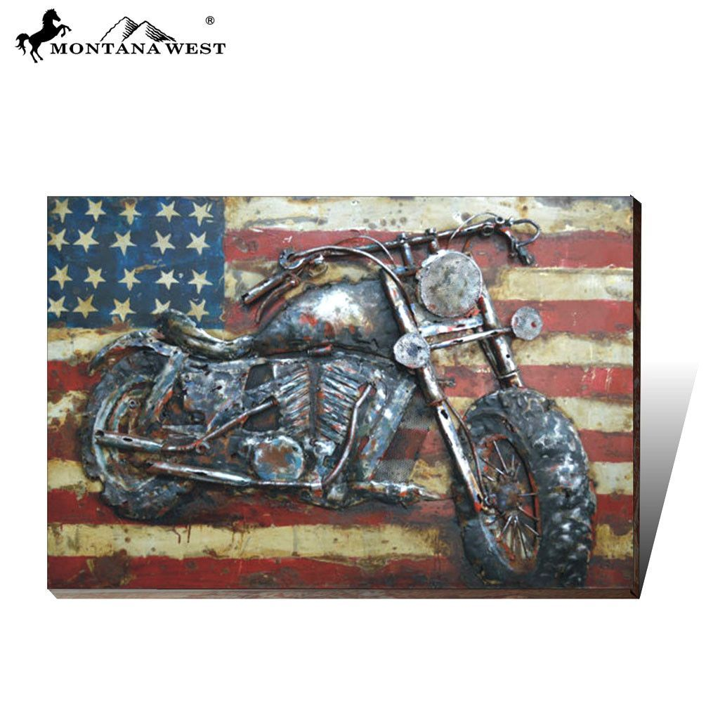 Mr montana west metal d wall art painting products