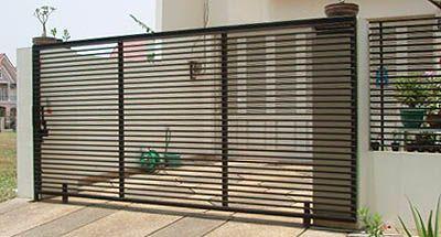 desain pagar rumah minimalis modern terkini gambar 3