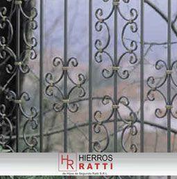 Hierros ratti herreria italiana rejas de hierro decoradas - Rejas de hierro forjado ...