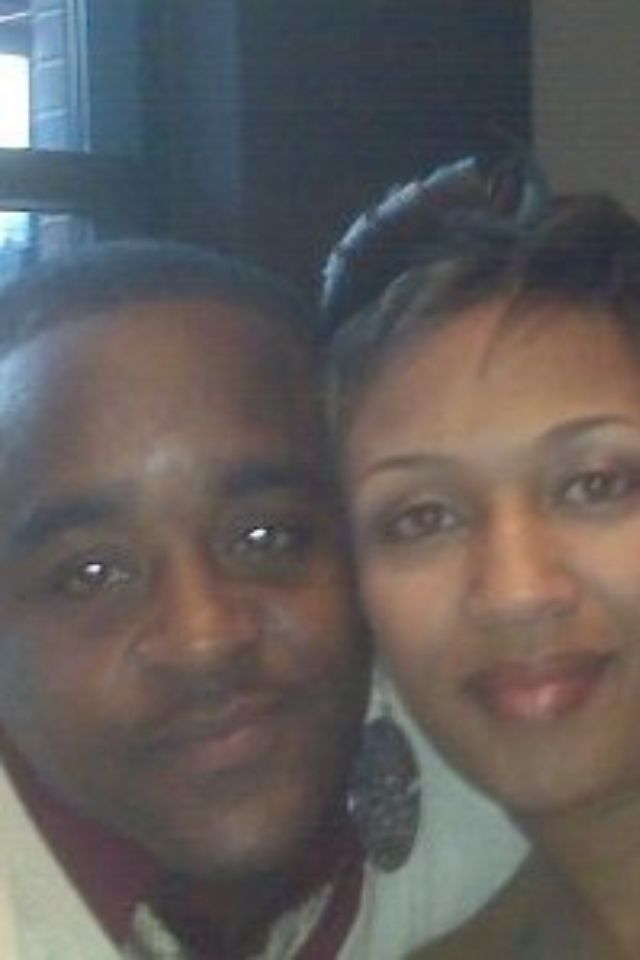 My brother and wife