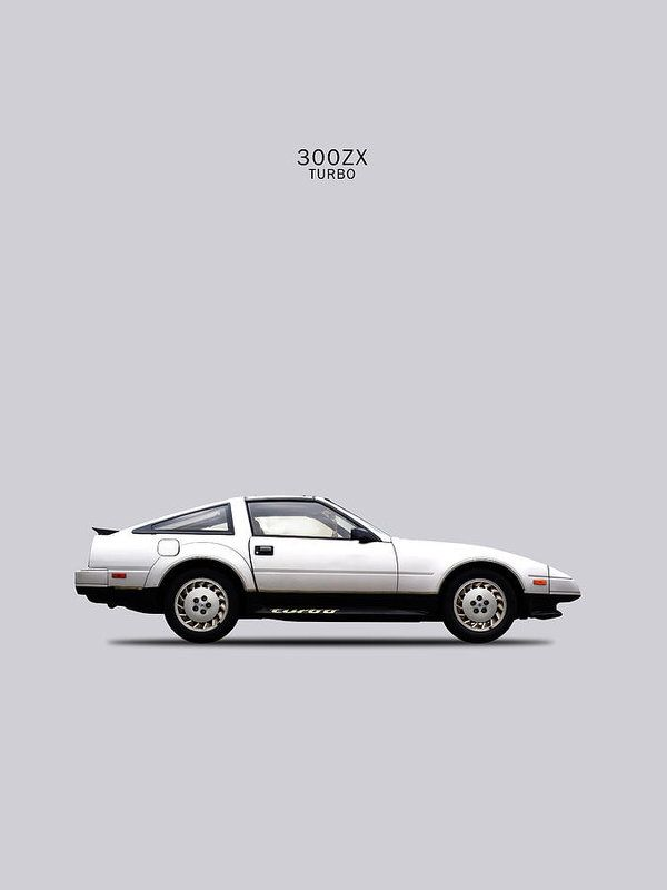Nissan 300zx 1984 Art Print By Mark Rogan Nissan 300zx Nissan 300zx Turbo Nissan