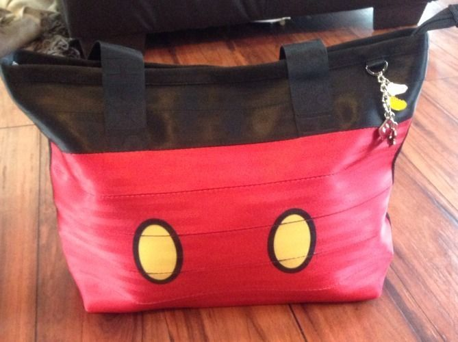 NWT Harveys Disney Couture Large Boat Tote Love You To