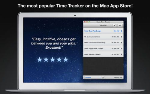 Caato Time Tracker Productivity Business | Mac App