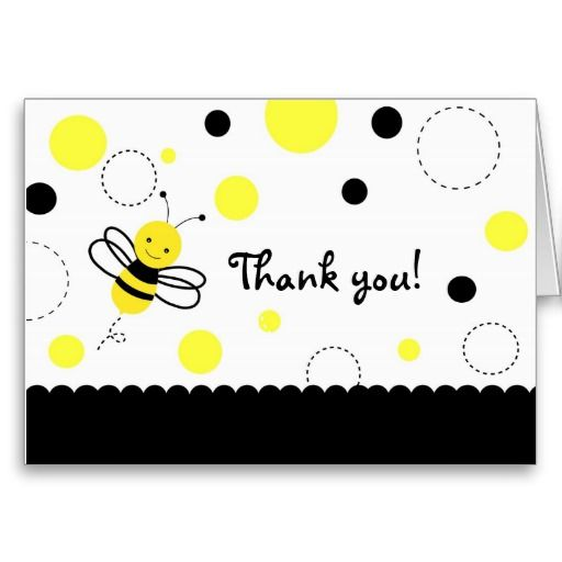 Bee Note Cards Personalized Bee Notes Bee Stationery Bumblebee Thank You Cards Little Bee Note Cards Flat Note Cards