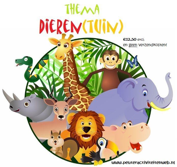 thema Dieren |educatief en creatief thema voor kinderen in de Kinderopvang/Gastouderopvang