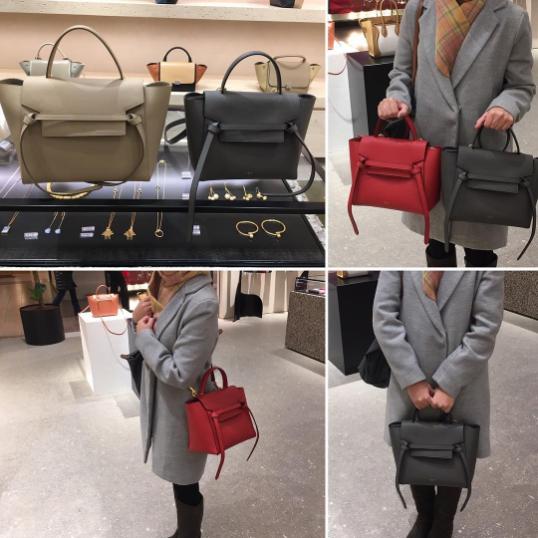 a8173f4586 Celine Micro Belt Bags