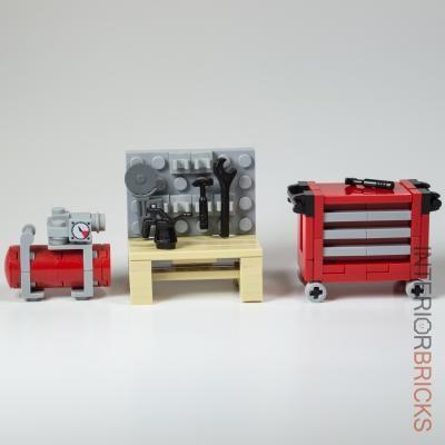 Image Result For Lego Workbench レゴ ミニチュア 作り方