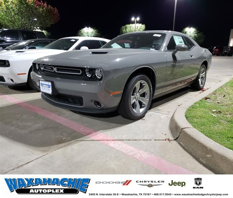 It Has A 3 6l V6 Engine Inside 8 Speed Automatic Transmission Cloth Seats And Exterior Paint Destroyer Gr Dodge Challenger Grey Exterior Exterior Gray Paint