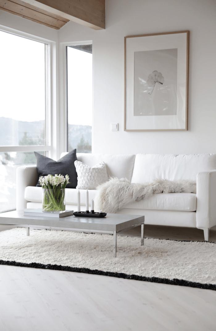 Estilo minimalista n rdico decoraci n serena minimalista y for Decoracion interior minimalista