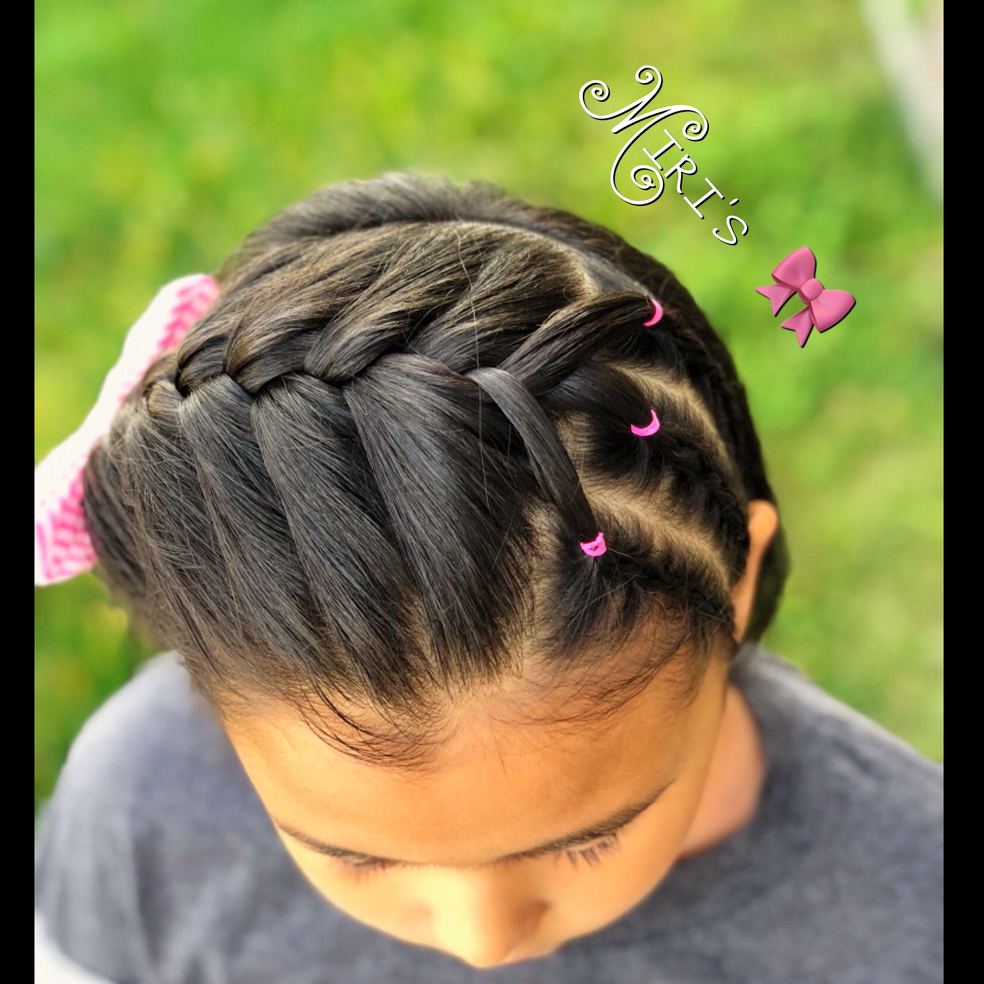 Hair style for little girls curly hairbraids pinterest hair