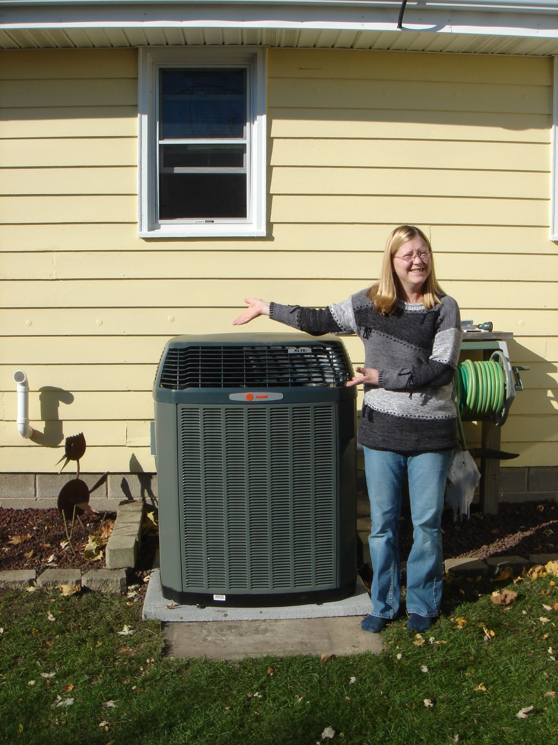 TRANE Air Conditioners giving you a reason to smile and