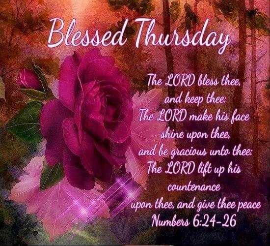 40+ Best Collections Bible Thursday Blessings Kjv - Poppy Bardon | Blessings  Pictures