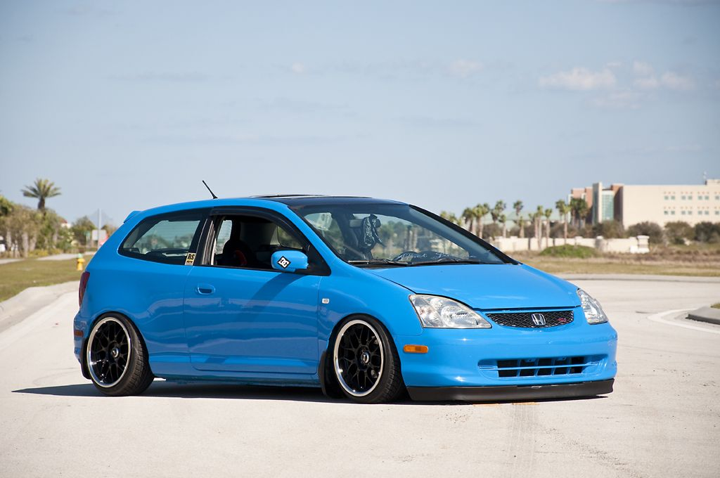 cool blue ep3 civic love love love the color project car. Black Bedroom Furniture Sets. Home Design Ideas