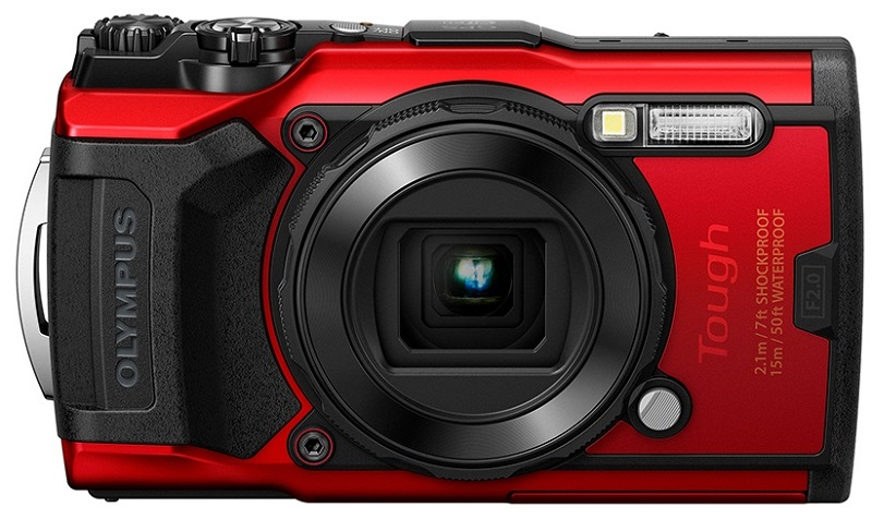 Olympus Tg 6 Digital Tough Camera Red Camera Digital Olympus