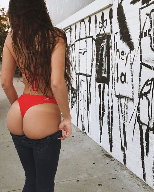 Young ghetto booty