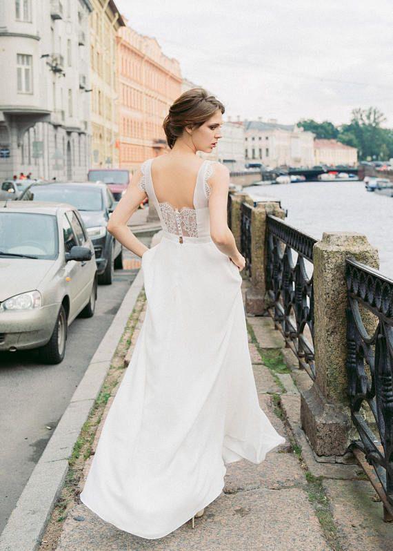Boho wedding dress White nights | Brautkleid | Pinterest | Brautkleid