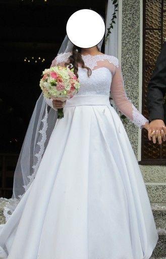 2c528c48a0 Suknia ślubna Margarett model Havana rozm.38