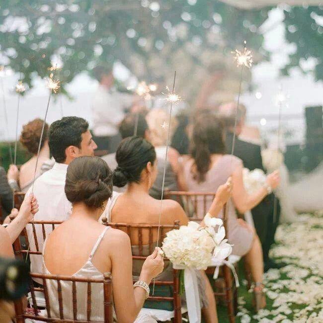 Para a entrada da noiva