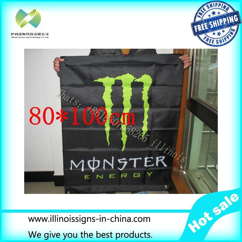 80 * 100cm monster flag banner flag flag ghost monster-quality