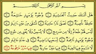 سورة الغاشية منصة تجربة Islam Calligraphy Arabic Calligraphy