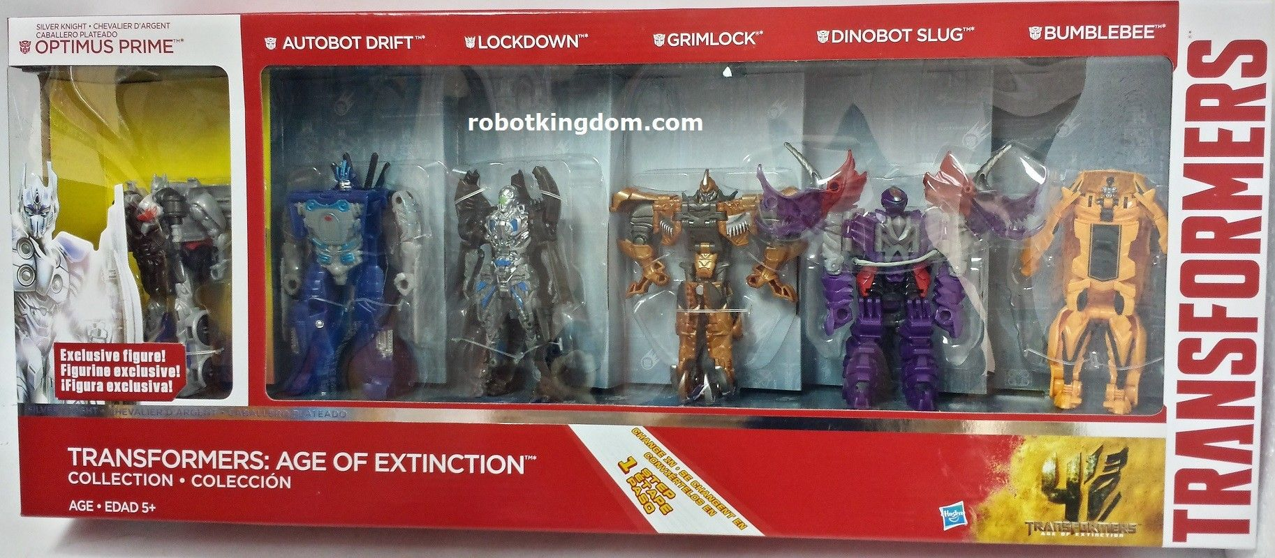 Transformers Robots in Disguise Collection Action Figure 6-Pack 3-Step Changer