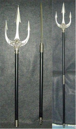 Poseidon Staff Tattoo: Interesting Weapons