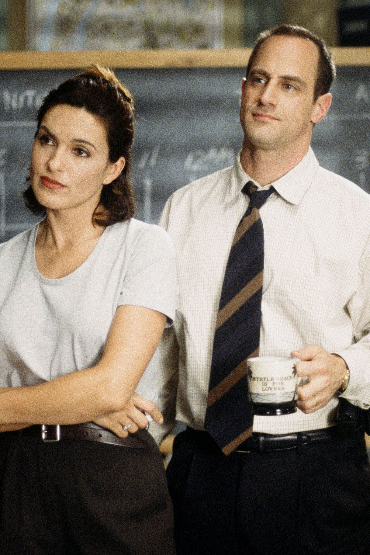 Elliot stabler and olivia benson wish these two would finally hook