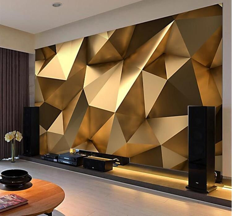Beibehang Custom Fashion Personality Wallpaper Gold Minimalist Geometric Living Room Bedroom Papel De Parede Papier Peint Tapety Wallpapers Aliexpress Wallpaper Living Room Geometric Living Room 3d Wallpaper Living Room Bedroom wall wallpaper images