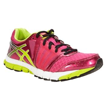 a86ec04bd7e5 Asics GEL-Lyte33 2 Running Shoe  VonMaur  Asics  Raspberry  Lime  White   Activewear