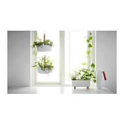 Bittergurka Hanging Planter Ikea Hang Your Herbs By A Window Then Unhook And Bring To The Table Or Cooking Pot For Fresh With Every M