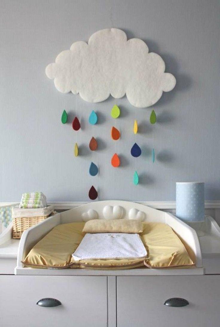 diy r alisez un mobile nuage pour la chambre de b b les sales gosses design int rieur. Black Bedroom Furniture Sets. Home Design Ideas