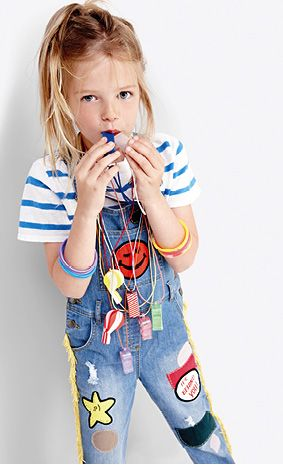 Stella McCartney Kids SS15 #stylishlittlemoppets @Little_Moppets