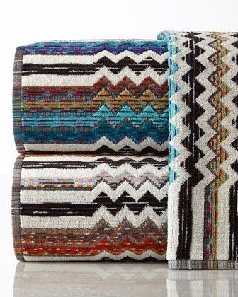 Missoni Home Collection Paul Hand Towel Missoni Towels Missoni