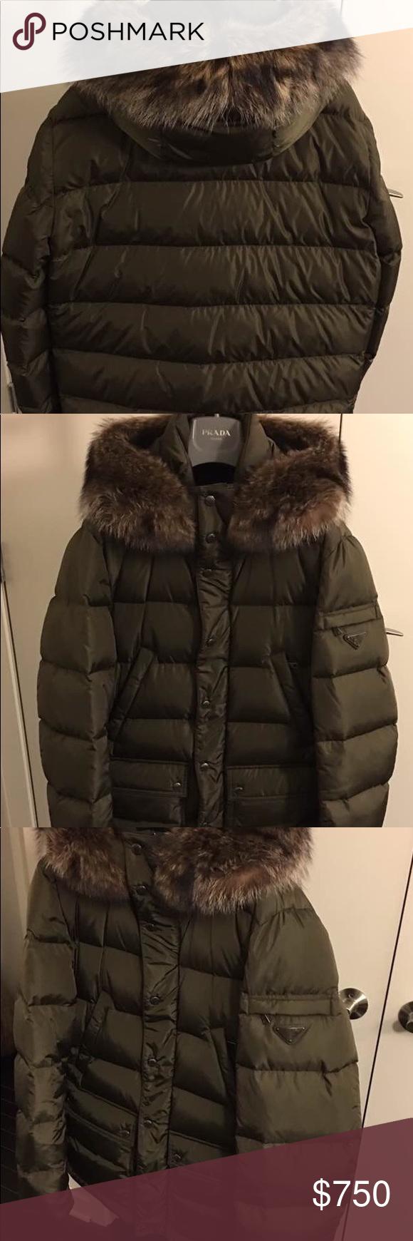 Sold Men S New Prada Down Jacket Down Jacket Jackets Clothes Design [ 1740 x 580 Pixel ]