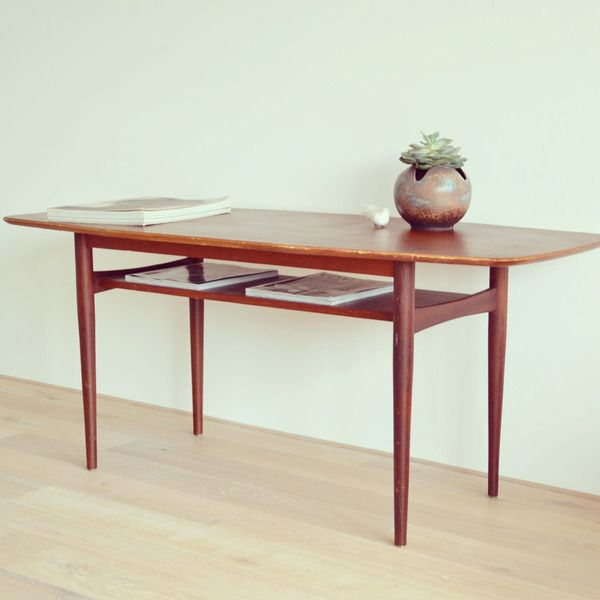 Coffee Table, Couchtisch, 60Er, Danish Design Von Leflair Auf