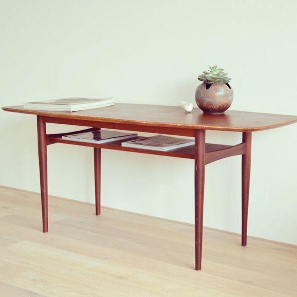 Coffee Table Couchtisch 60er Danish Design Von Leflair Auf