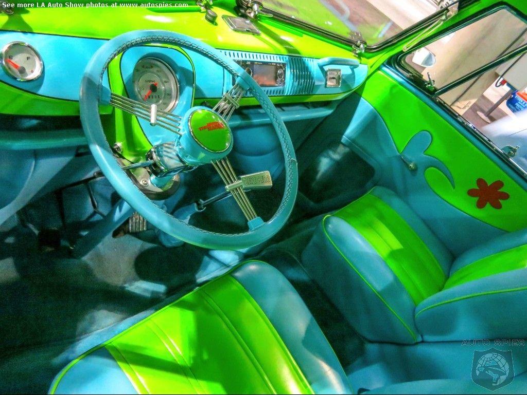 The mystery machine interior scooby doo pinterest ext rieur et jeu - Voiture de scooby doo ...