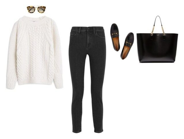 """108"" by hannahegabe on Polyvore featuring MANGO, Madewell, Gucci, Yves Saint Laurent and Prada"