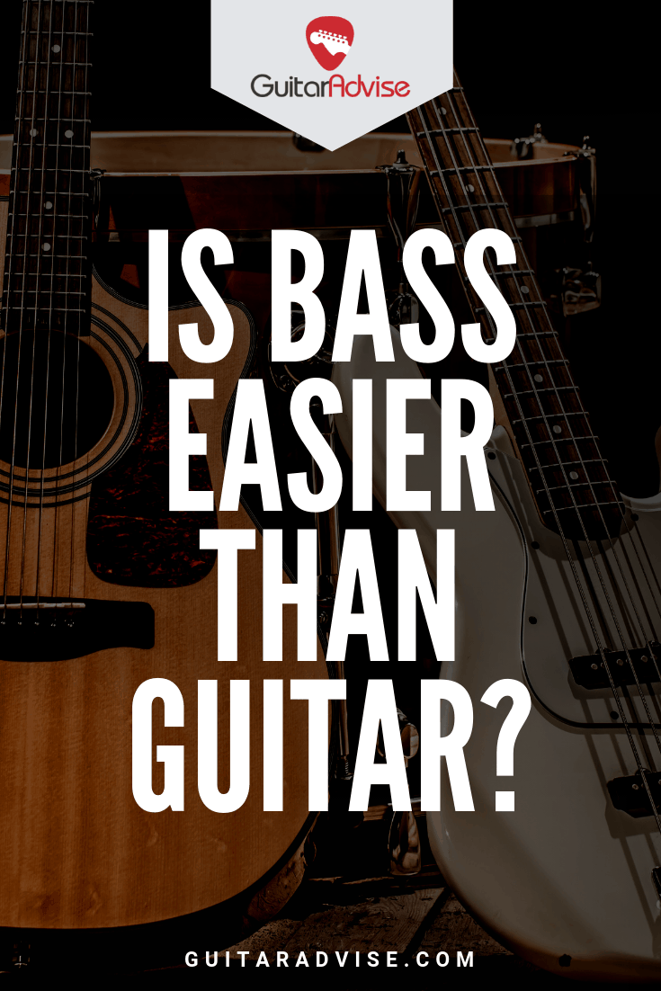 Is Bass Easier Than Guitar And What S The Difference Learn Music Theory Bass Guitar Lessons Guitar