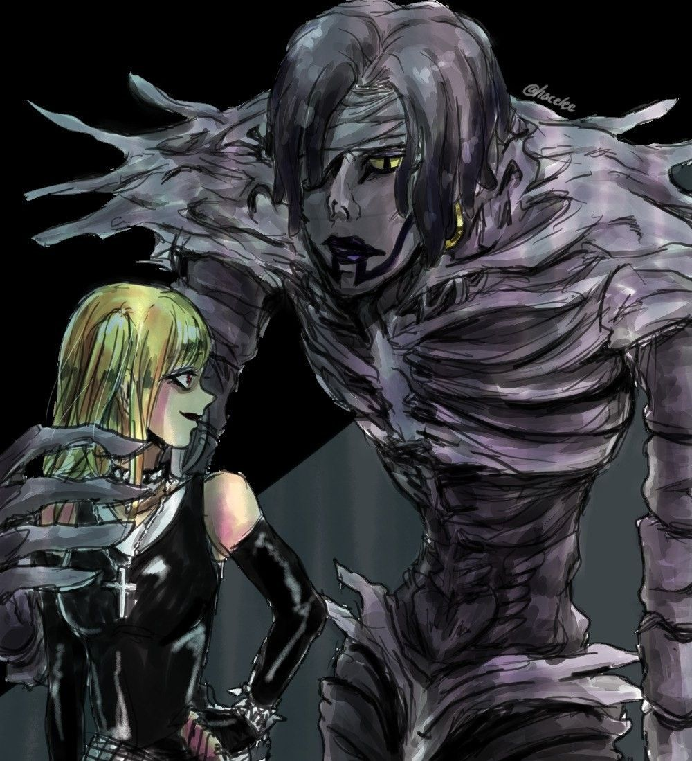 Pin by Olivia on Death Note Death note, Anime, Shinigami