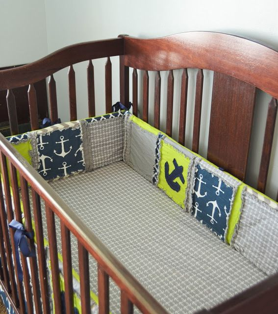 Nautical Baby Nursery Crib Pers With