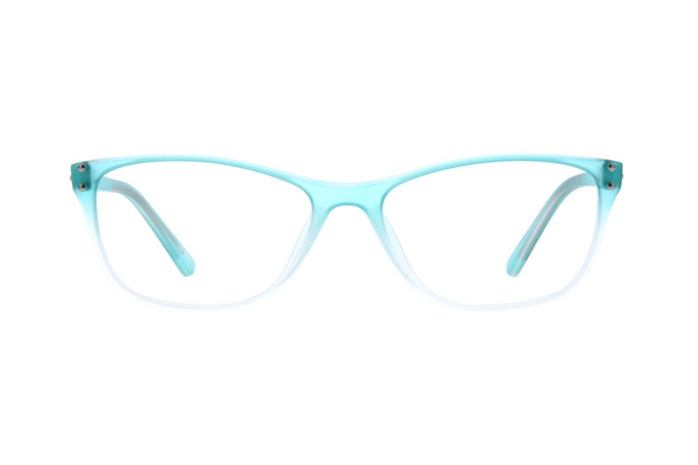 Blue Cat Eye Glasses 297716 Zenni Optical Eyeglasses With