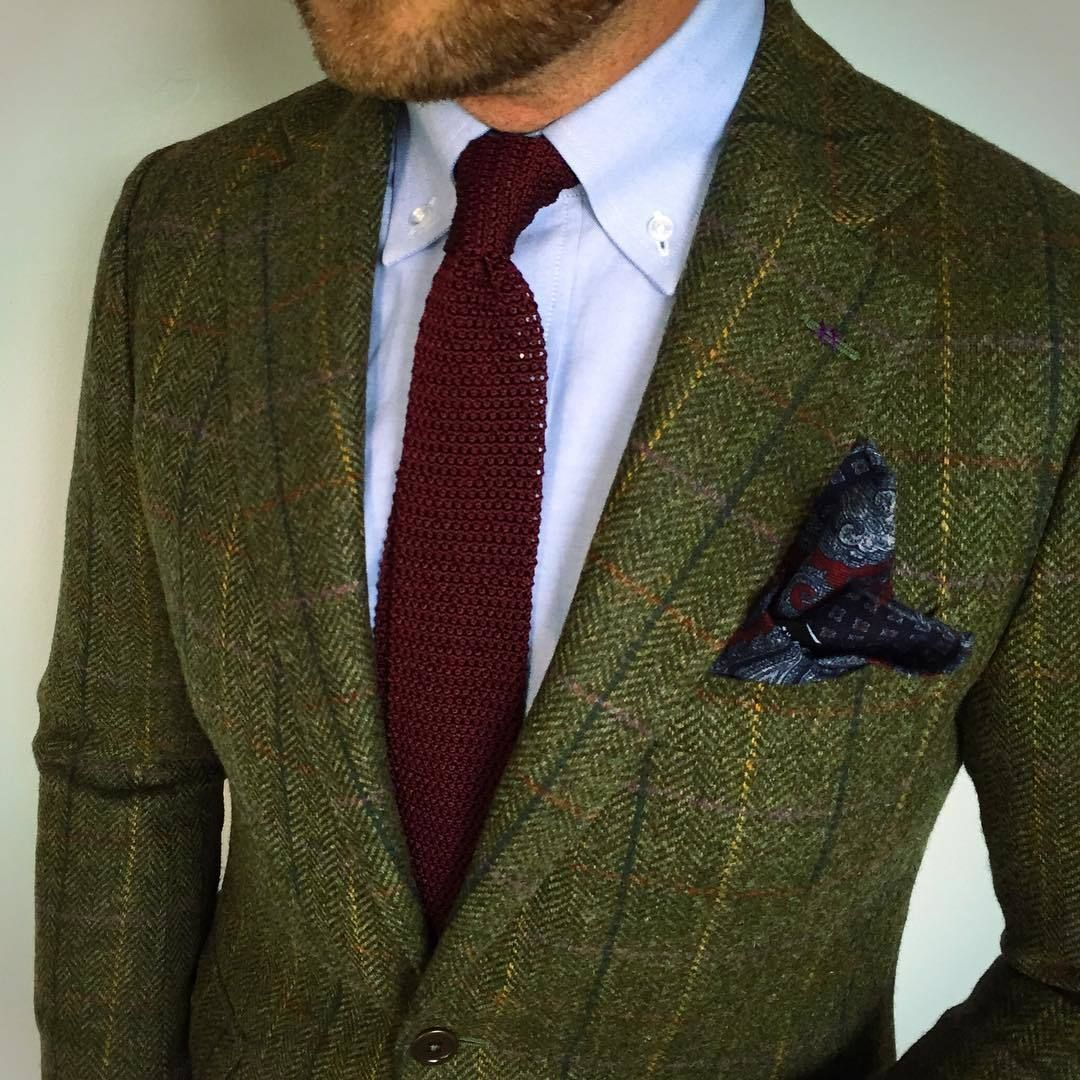 Image Result For What To Wear With Dark Green Tweed Jacket Tweed Jacket Men Tweed Blazer Men Light Blue Dress Shirt