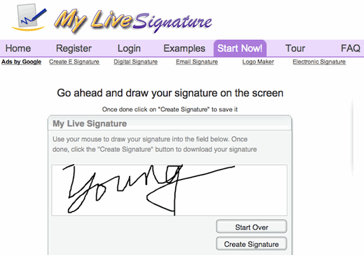 MyLiveSignature...electronic signatures | Make money from home ...